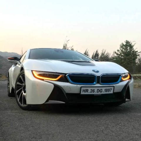The BMW i8 in photos: BMW's tech-heavy poster boy for the future