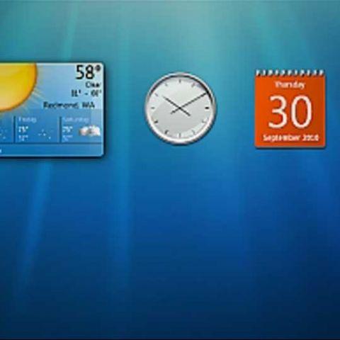 Windows 7 Desktop Gadgets could compromise your system
