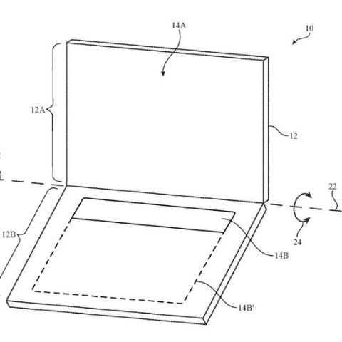 Patent reveals Apple could be working on a dual display laptop