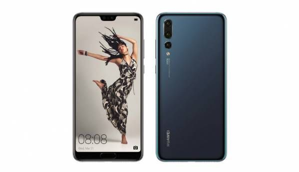 Huawei P20, P20 Lite and P20 Pro seen with the 'Notch' ahead of March 27 launch