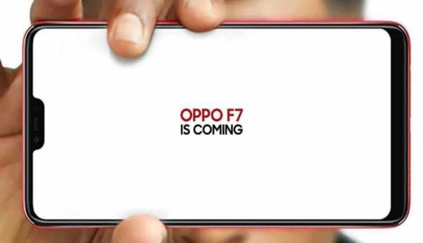 Oppo F7 with iPhone X-like notch, 19:9 display aspect ratio  to launch in India on March 26