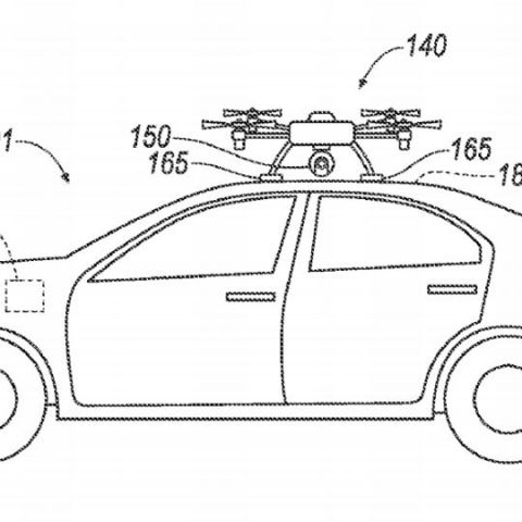 Ford's patent suggests using drones as surrogate car sensors