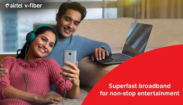 How Airtel has advanced the broadband services in India