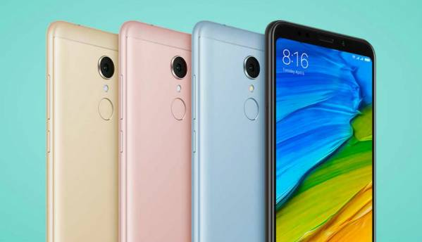 Xiaomi Redmi 5 with 18:9 display aspect ratio, Snapdragon 450 SoC launched starting at Rs 7,999