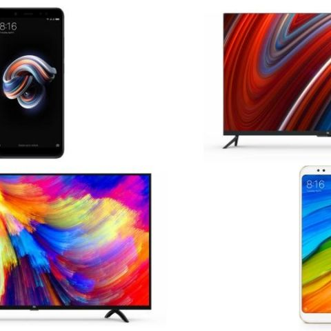 Xiaomi Mi LED Smart TV 4A, Smart  TV 4, Redmi Note 5 and Note 5 Pro on sale today at 12PM via Flipkart, Mi.com, Mi Homes