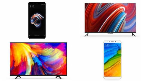 Xiaomi Mi LED Smart TV 4A, Smart  TV 4, Redmi Note 5 and Note 5 Pro on sale today at 12PM via Flipkart, Mi.com, Mi Homes