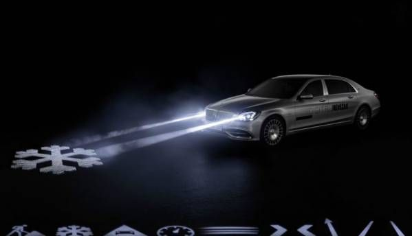 Mercedes Digital Light is a radical new way of employing headlamps