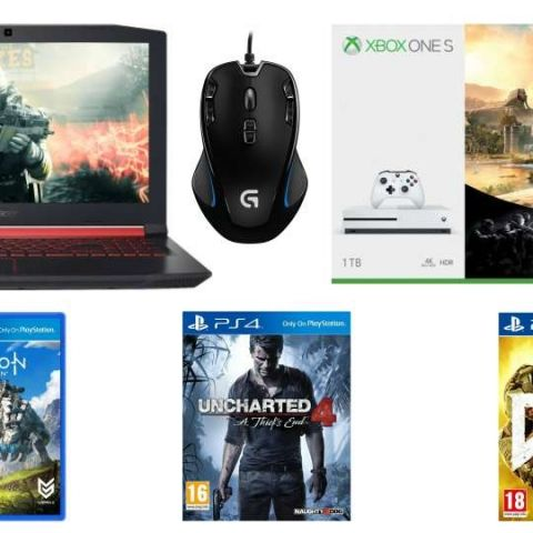 Best Flipkart, Amazon offers on Xbox One S, Bluetooth soundbar speakers, gaming titles and more