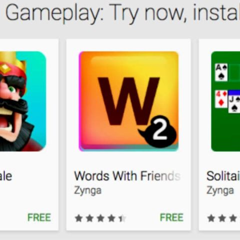 Google Play Instant will let Android users preview games without installing them