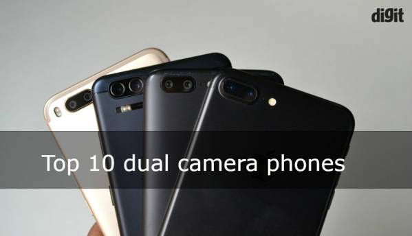 Top 10 dual camera phones in India