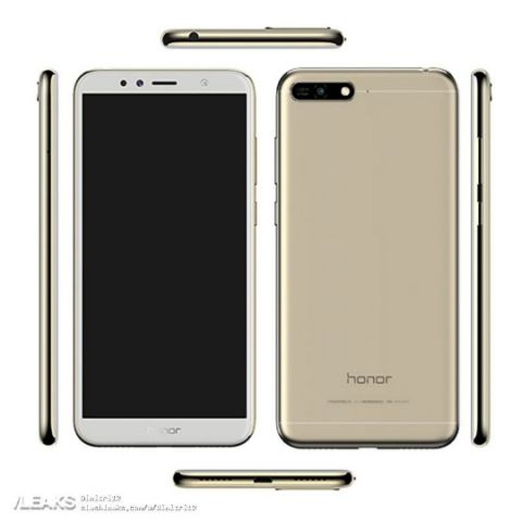 Honor 7A with face recognition, dual rear cameras and dual