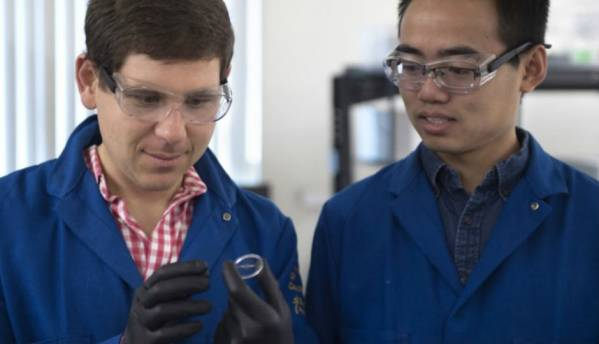 Engineers create invisibility material
