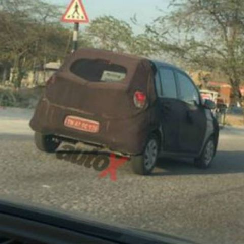 New Hyundai Santro spotted testing again as it readies for launch