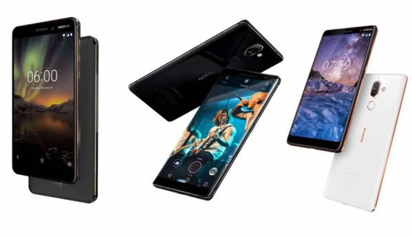 Nokia 8 Sirocco, Nokia 7 Plus and Nokia 6.1 now available via Airtel Online Store