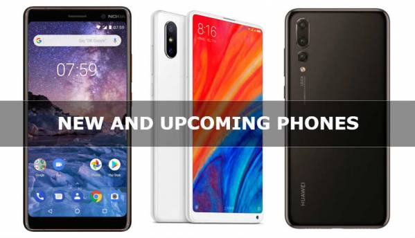 New and Upcoming phones in India (April 2018)