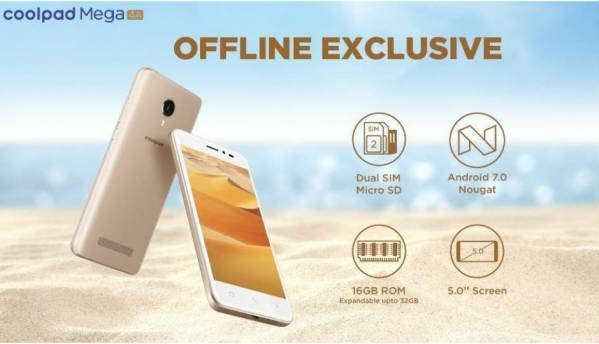 Coolpad launches offline exclusive Coolpad A1 and Coolpad Mega 4A smartphones for Rs 5,499 and Rs 4,299