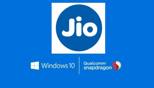 Reliance Jio working on 4G-enabled Windows 10 laptop in partnership with Qualcomm: Report