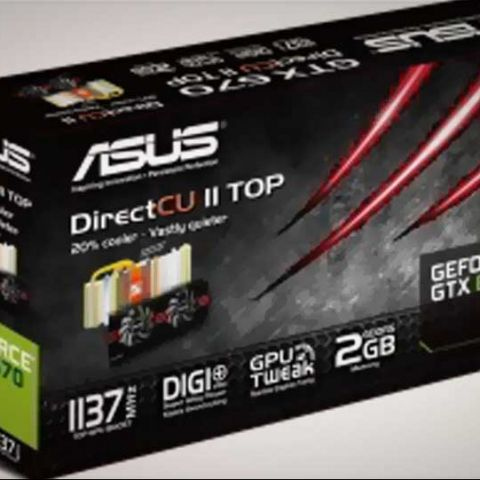 Asus GeForce GTX 670 DirectCU II and 'TOP' editions launched in India