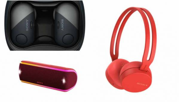 Sony expands wireless audio line-up in India