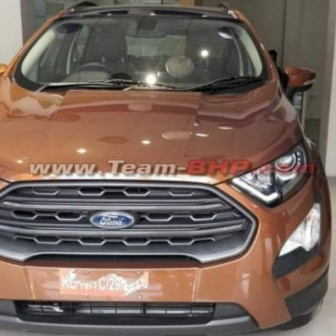 Ford reportedly launching EcoSport Titanium S with Sunroof in May 2018
