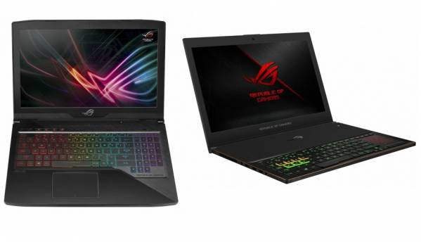 Asus ROG GX501 and ROG Strix GL503 gaming laptops powered by 8th Gen Intel Core processor launched starting at Rs 1,09,990