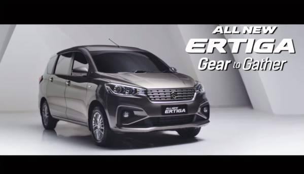 India-bound 2018 Suzuki Ertiga: In photos