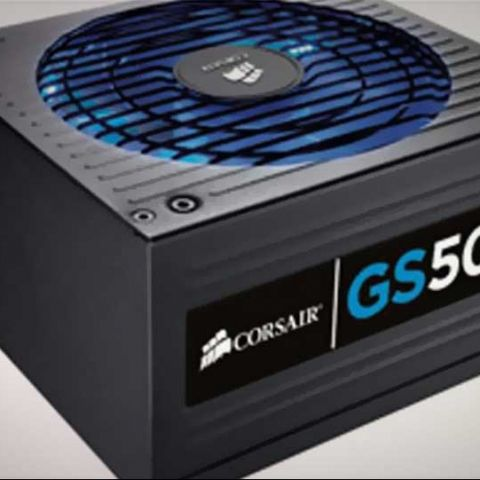 Corsair Gaming Series GS500 PSU launched in India, at Rs. 4,300