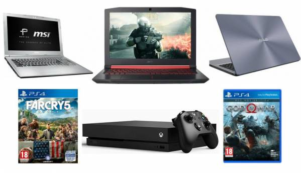 Gaming Friday deals roundup: Price drops on gaming consoles, laptops and more