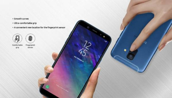Samsung Galaxy A6, Galaxy A6 Plus smartphones detailed on official website ahead of launch