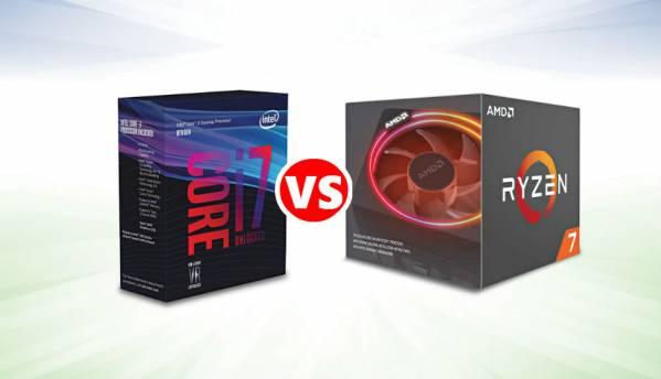 Intel Core i7-8700K vs AMD Ryzen 7 2700X