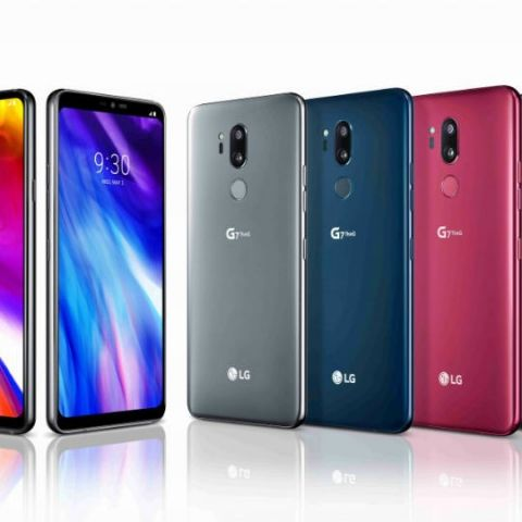 LG G7 ThinQ, G7+ ThinQ with iPhone X-like notch, dedicated Google