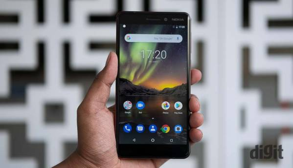 Nokia 6 (2018) with 4GB RAM/64GB storage up for sale from May 13 via Amazon