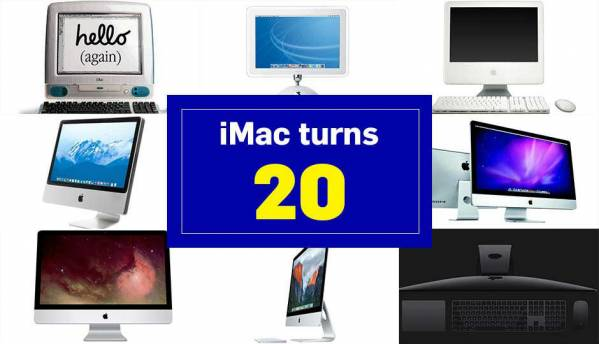 iMac turns 20: Here is a look back at Apple's iconic All-in-one