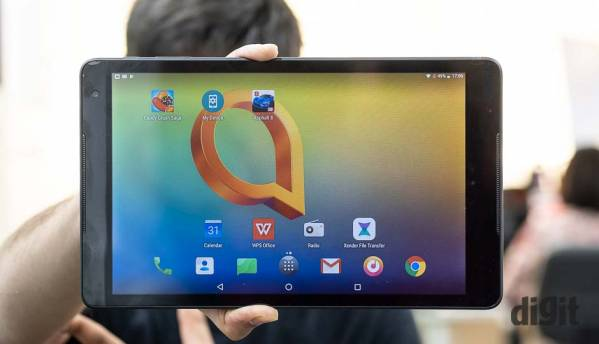 Alcatel A310 tablet first impressions