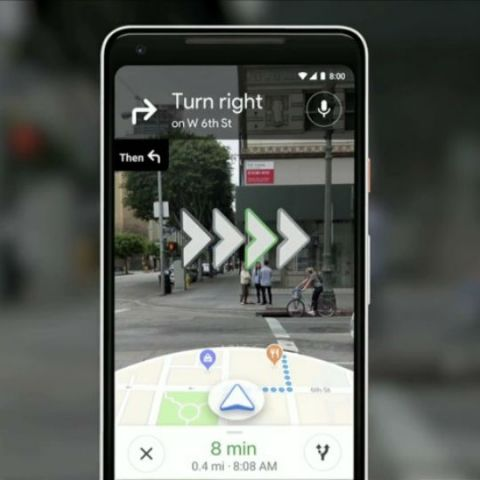 Google Maps with AR navigation being tested by a handful of users