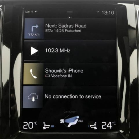 Volvo to integrate Android OS with Play Store and services directly into Sensus infotainment system