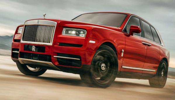 The Rolls-Royce Cullinan is an exuberant, exquisite piece of luxurious craftsmanship
