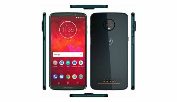 Moto Z3 Play leaked renders show side mounted fingerprint scanner, new Deep Indigo colour
