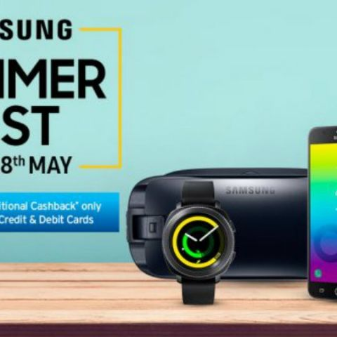 Samsung Summer Fest Sale starts today: Deals on smartphones, TVs, accessories and more
