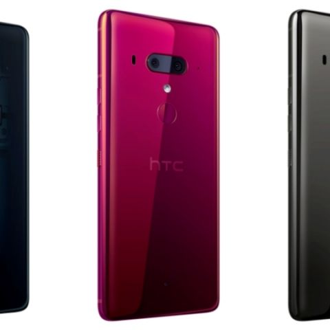 HTC U12+ with 6-inch Quad HD+ display, dual front and rear cameras unveiled