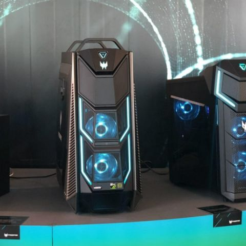 Acer Predator Orion 5000, Orion 3000 and Nitro 50 series of gaming desktops announced