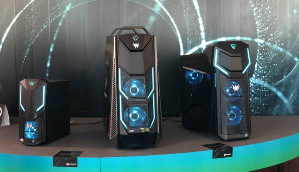 Acer Predator Orion 5000, Orion 3000 and Nitro 50 series of gaming desktops announced