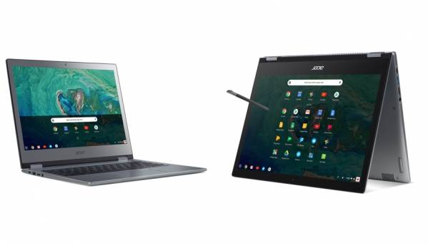 Acer Chromebook 13, Chromebook Spin 13 with Android app support via Google Play Store launched