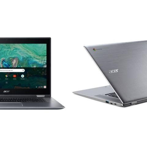 Acer Chromebook 15, Chromebook Spin 15 announced