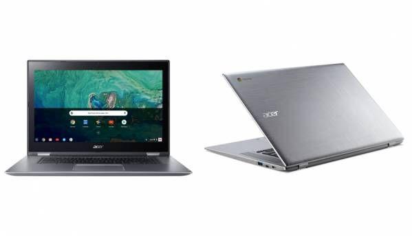 Acer Chromebook 15, Chromebook Spin 15 announced