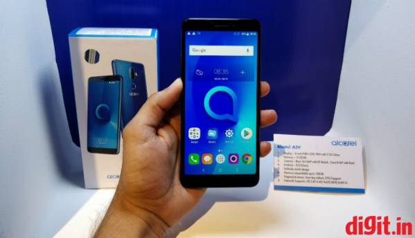 'Alcatel 3V' budget smartphone with FullView 18:9 display, Android 8.0 Oreo launched in India at Rs 9,999