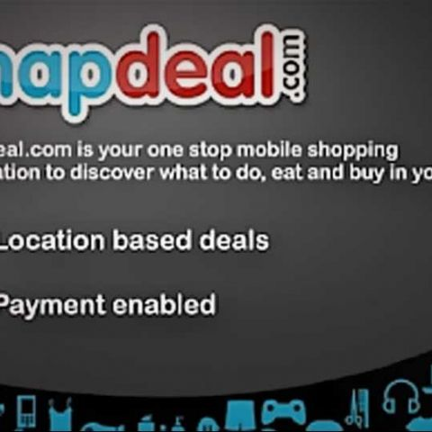 Snapdeal launches an Android app