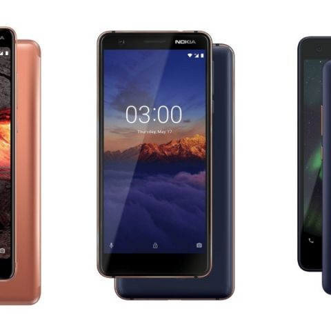 Nokia 5.1 and Nokia 3.1 with 18:9 display aspect ratio, Nokia 2.1 running on Android Oreo (Go Edition) announced