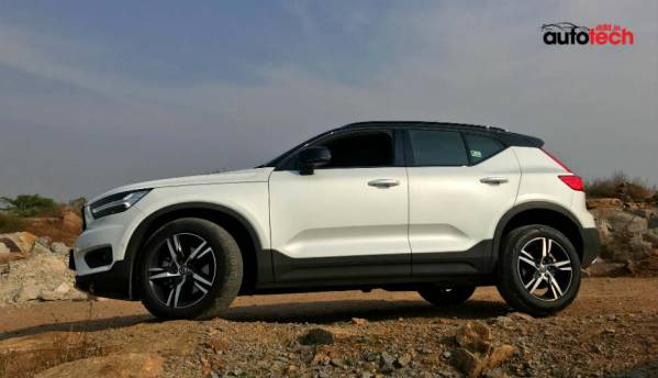 2018 Volvo XC40 R-Design launched in India at Rs. 39.9 lac