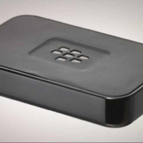 RIM unveils NFC music streaming device, BlackBerry Music Gateway